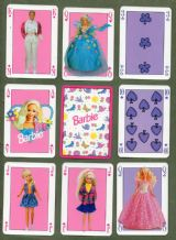 Collectible playing cards. Barbie by Grimund 1996